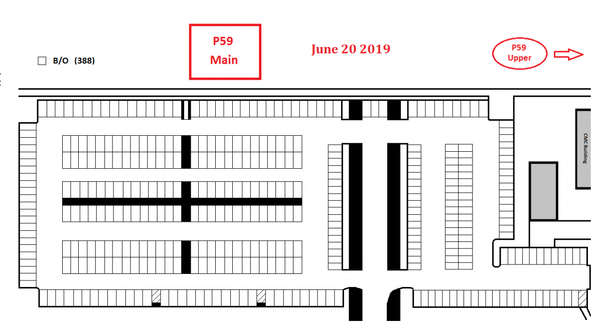 Map of P59 Main Lot