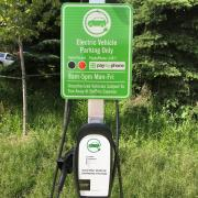 Picture of EV Charging Station