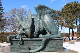 Picture of University Gryphon