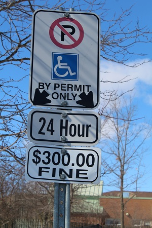 MTO Medical Parking Sign