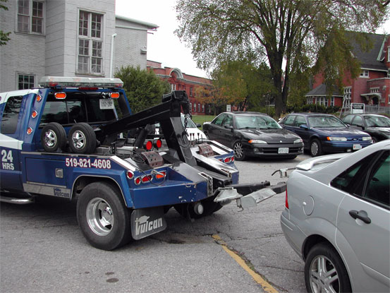 Picture of Vehicle being Towed