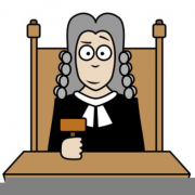 Photo of a Judge